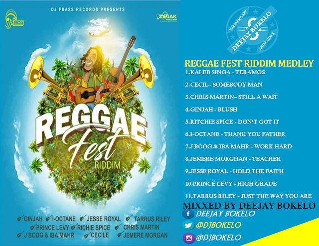 DJ BOKELO – REGGAE FEST RIDDIM MEDLEY Mixtape (Download
