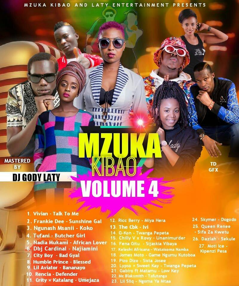 Download| Dj Gody Laty - Mzuka Kibao Mix (vol 4) - CHIT CHAT